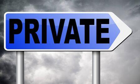 discretion: private road sign billboard.
