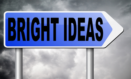original idea: bright ideas road sign billboard.