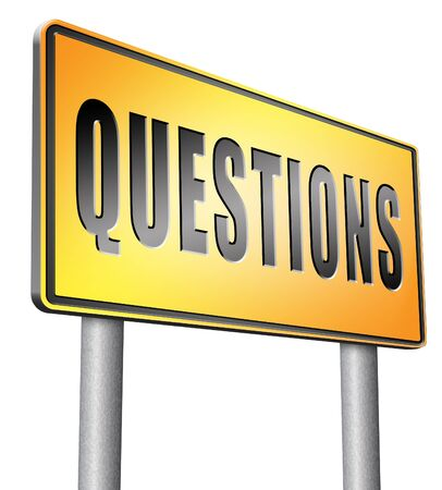search query: questions road sign billboard.