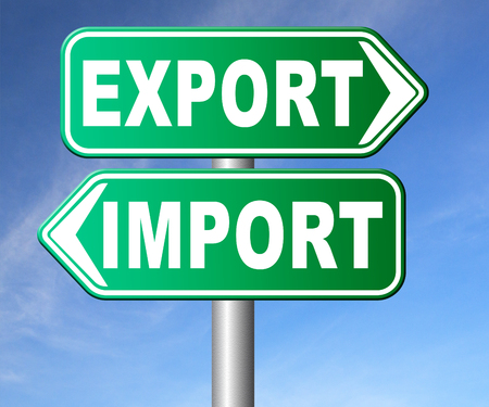 exportation: import and export freight transportation global economy and worldwide business