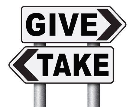 altruismo: dar a tomar a la caridad y hacer una contribuci�n o donaci�n altruista y generosa entrega y donar el voluntariado rega�adientes barato