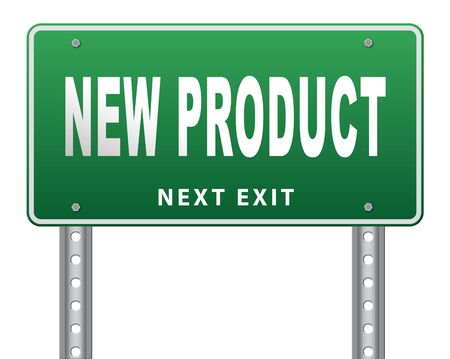 new product coming soon announcement arriving and available soon advertising news, road sign, billboard.