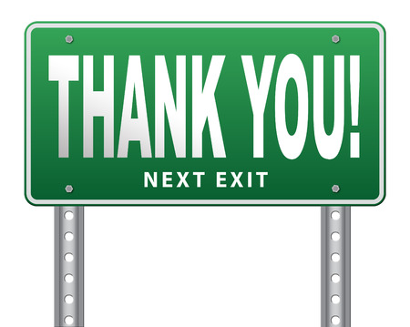 many thanks: Thank you sign, many thanks for the support Stock Photo