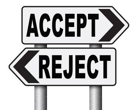 no pase: aceptar aprobar o rechazar decadencia y rechazar la propuesta oferta o invitaci�n, s� o no