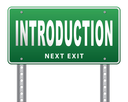 biography: Introduction or about us road sign a biography or bio
