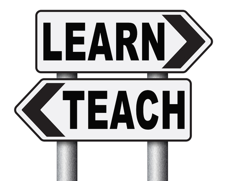 highschool: learn and teach different sides of education at high school or university or e-learning sharing knowledge