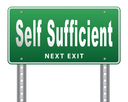 autonomy: Self sufficiency sustainable renewable energy and agriculture auto sufficient and simple living