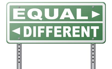 racismo: igualdad de igual o diferente en derechos y oportunidades para todos sin discriminación o racismo abrazo diversidad