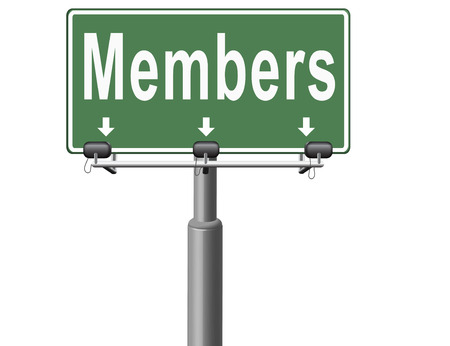 members only: members only membership required restricted area only for VIP