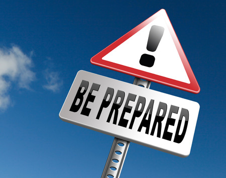 Be prepared and ready before the big change. Are you ready, it is time to plan ahead and in advance. Imagens - 65261401