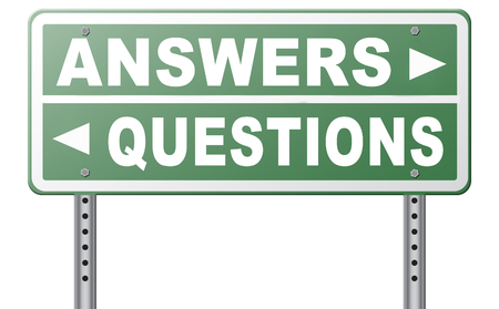 solve problems: questions answers ask the right question and get an answer help or support desk solve problems and find solutions road sign