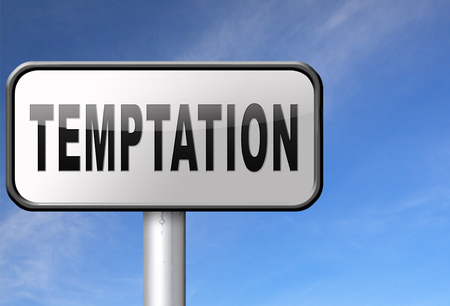 bad habits: Temptation resist devil temptations lose bad habits by self control.