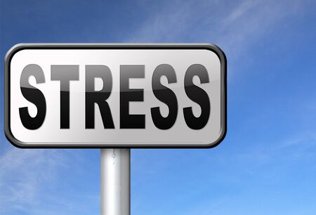 panic attack: Stress disorder from acute work pressure is a factor triggering a panic attack bad mental health.