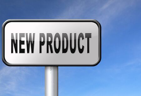 arriving: new product coming soon announcement arriving and available soon advertising news, road sign, billboard.