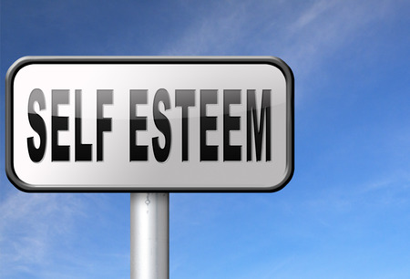 self worth: Self esteem or respect confidence and pride psychology