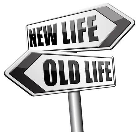 make over: new life or old life new fresh beginning or start again last chance for you by remake or makeover