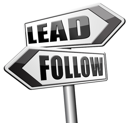 copycat: leadership follow or lead following the natural leader, the chief in command by followers in business
