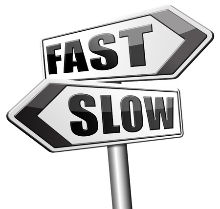 fast lane: fast or slow pace, lane or living faster or slower speed stop rat race and adapt to slower lifestyle take your time do it easy
