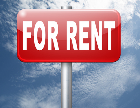 room to let: For rent sign, renting a house apartment or other real estate to let label. Home flat or room to let Stock Photo