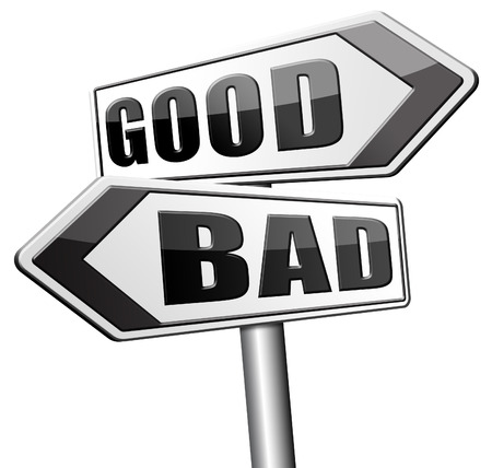 good and bad: good bad a moral dilemma about values right or wrong evil or honest ethics legal or illegal