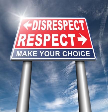 irrespeto: respeto irrespeto dar y ganar una respetuosa opinión o punto de vista diferente y otra