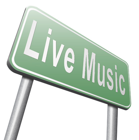 listen live stream: music live stream radio music or listen live on air broadcasting songs program road sign