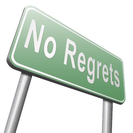 ashamed: Regret or no regrets saying sorry and offer apologize being ashamed for bad decisions Foto de archivo