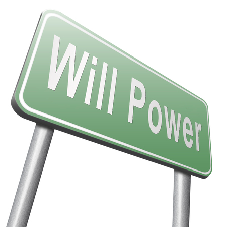 self control: Will power of the mind or self dicipline or determination control thoughts