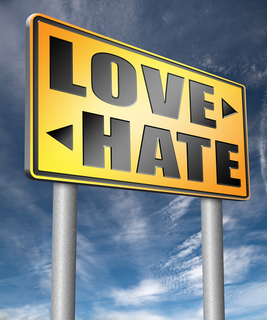 dislike it: love hate emotions and connections intense feelings of affection