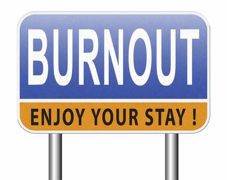 Burnout o estrés en el trabajo psicológico. Ocupacional queme o desmotivación trabajo, agotamiento, falta de entusiasmo y motivación, ineficacia y desmotivado. Foto de archivo - 89285470