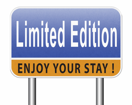 limited edition exclusive product restricted stock Standard-Bild - 89902836