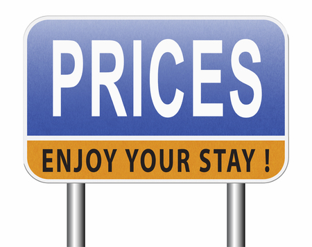 prices for online internet web shop product order, price road sign