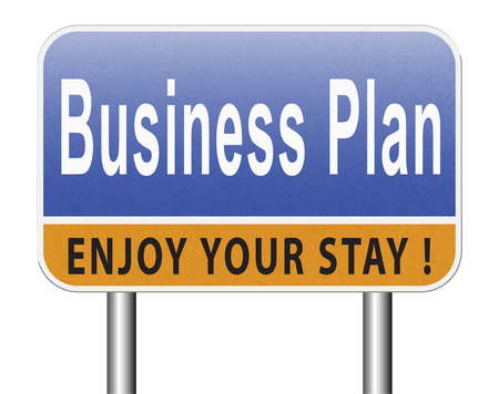 business plan, strategy or goals. Planning and analysis of a market. A vision a concept or an idea. Planning ahead for success. Standard-Bild - 89902839
