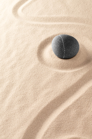 harmony purity and spirituality background, zen meditation stone Standard-Bild - 121959610