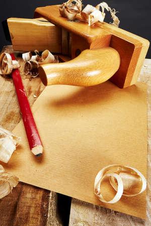 excelsior: Carpenter Tool Stock Photo