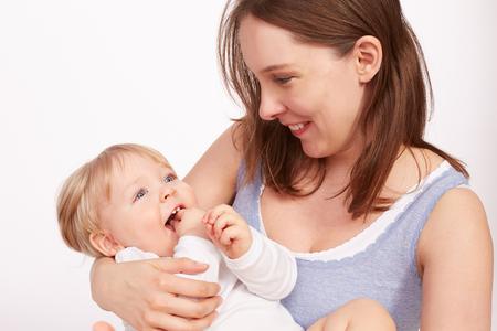 madre soltera: Madre y el Ni�o