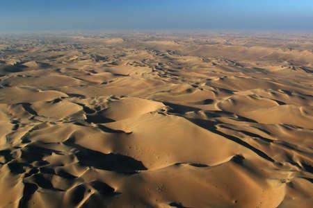 namib: Aerial view of the Namib Desert