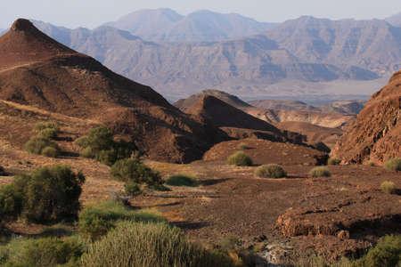 Landscape in Damaraland in northern Namibia photo
