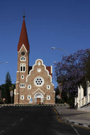 christ church: The Christ Church, a historic landmark in Windhoek, Namibia.