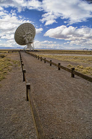 Landscape of Very Large Array of Radio Telescopes photo