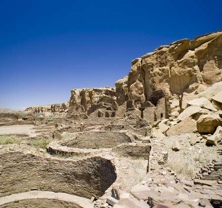 anasazi: Ancient Ruins at Chaco Canyon, New Mexico