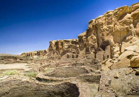chaco: Ancient Ruins at Chaco Canyon, New Mexico