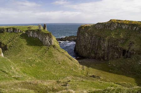 northern ireland: Landscape of Giants Causeway Northern Ireland