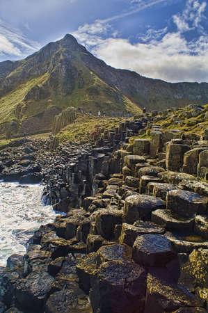 ジャイアンツ ・ コーズウェー北アイルランドの風景
