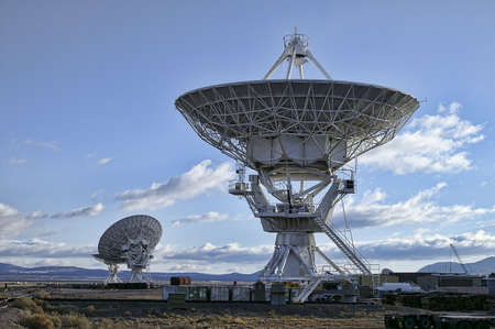 Landscape of Very Large Array of Radio Telescopes in New Mexico, USA. Stock Photo - 5812661