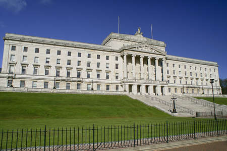 Beautiful Parliament Building.  Stormont in Northern Ireland