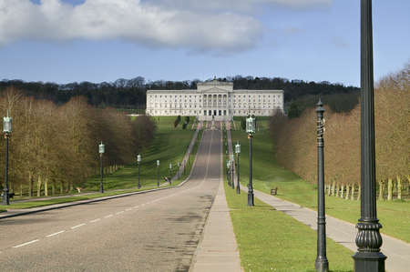 Beautiful Parliament Building.  Stormont in Northern Ireland Stock Photo - 5812678