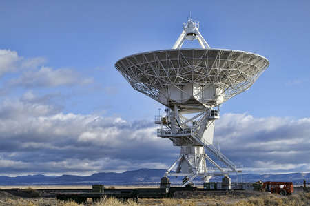 Landscape of Very Large Array of Radio Telescopes in New Mexico, USA photo