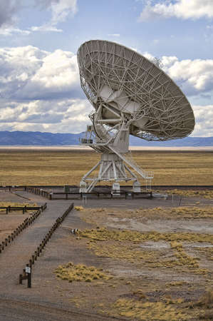 Landscape of Very Large Array of Radio Telescopes in New Mexico, USA. photo