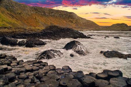 northern ireland: Sunset Image of Giant
